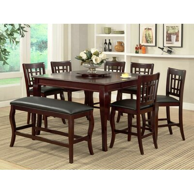 Burgos 7 Piece Pub Table Set
