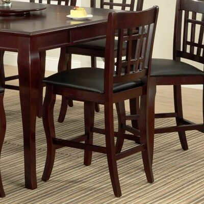 Burgos 24 Bar Stool Bar Stool Finish: Cherry