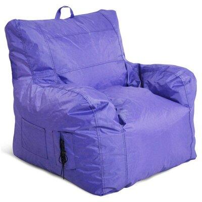 Bean Bag Chair Upholstery: Purple