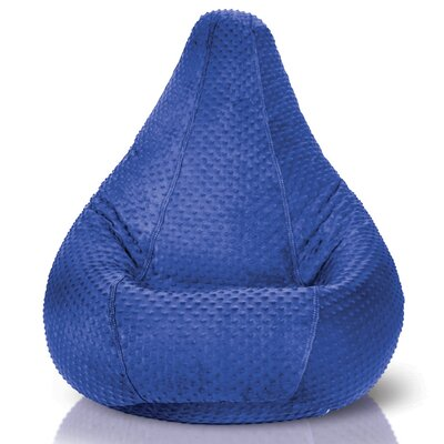 Bean Bag Chair Upholstery: Royal Blue