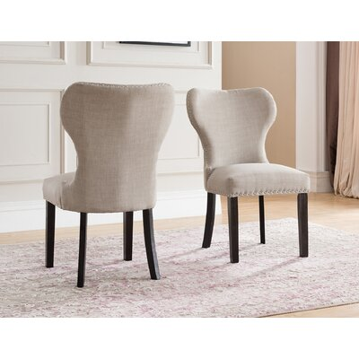 Swanston Wing Back Upholstered Dining Chair