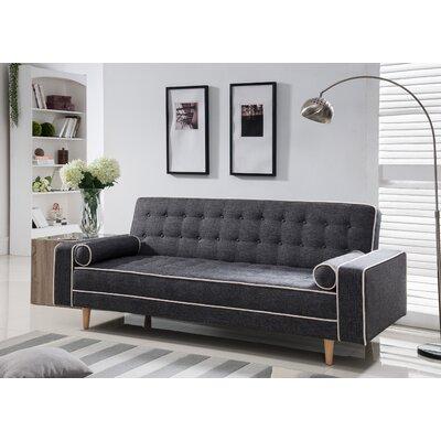 Castiel Sleeper Upholstery: Gray