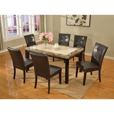 Greenock Dining Table Table Top Finish: Two-Tone