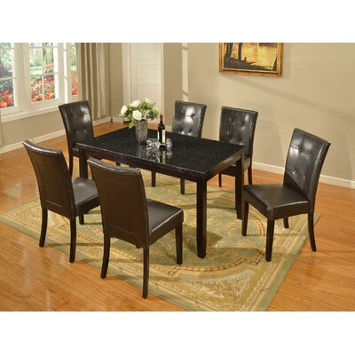 Greenock Dining Table Table Top Finish: Black