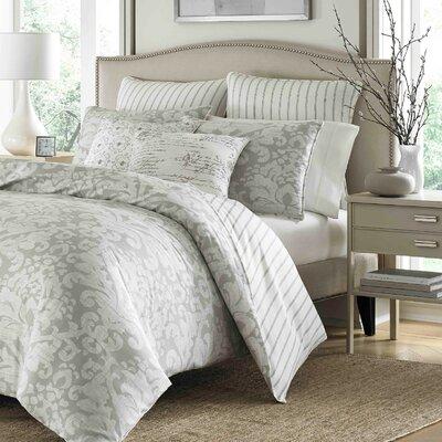 Verdon 100% Cotton 3 Piece Reversible Comforter Set Size: Full/Queen