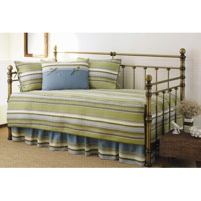 Stone Cottage Fresno 5 Piece Daybed Set in Green Stripe at Sears.com