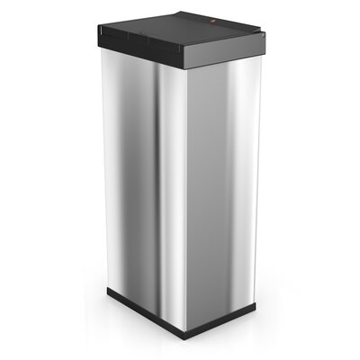 Hailo LLC Big Box 15.85-Gal. Touch Waste Box - Color: Stainless Steel