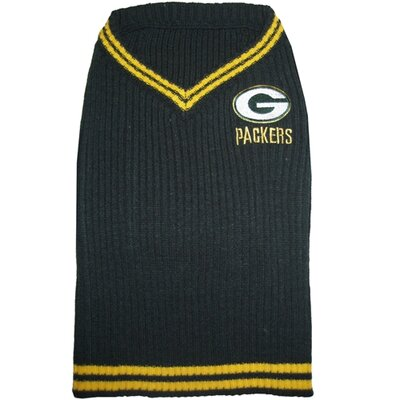 """Doggie Nation NFL Dog Sweater - Size: Small (12"""" H x 7"""" W x 0.5"""" D), NFL Team: Green Bay Packers at Sears.com"""