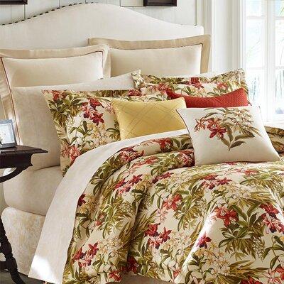 Daintree Tropic 4 Piece Comforter Set Size: Queen