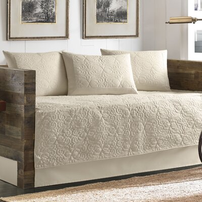 Nassau 5 Piece Twin Daybed Cover Set by Tommy Bahama Bedding Color: Ivory