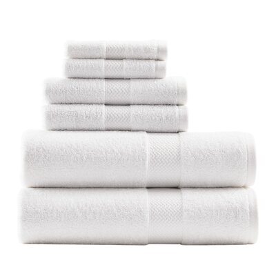 Cypress Bay 6 Piece Towel Set by Tommy Bahama Bedding Color: Coconut