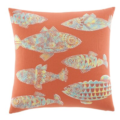 Batic Fish Cotton Decorative Throw Pillow by Tommy Bahama Bedding