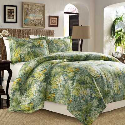 Cuba Cabana 4 Piece Reversible Comforter Set by Tommy Bahama Bedding Size: King