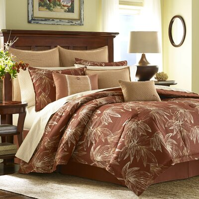 Cayo Cocco 4 Piece Comforter Set by Tommy Bahama Bedding Size: California King