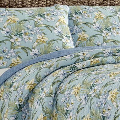 Julie Cay Reversible Quilt Set by Tommy Bahama Bedding Size: Twin