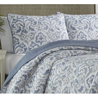 Cape Verde Reversible Quilt Set by Tommy Bahama Bedding Size: Full / Queen