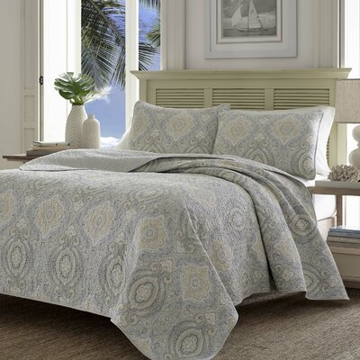 Turtle Cove Quilt Set by Tommy Bahama Bedding Size: Twin