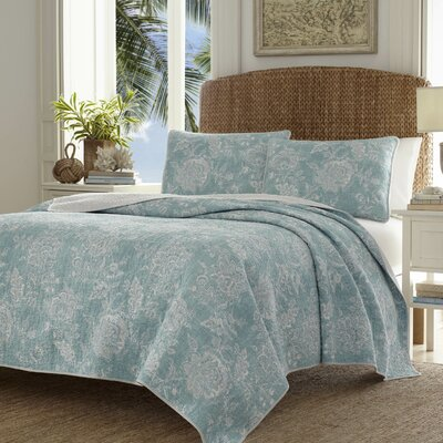 Tidewater Jacobean Quilt Set by Tommy Bahama Bedding Size: Full/Queen