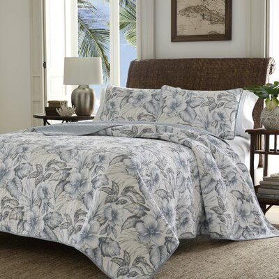 Casablanca Garden Quilt Set by Tommy Bahama Bedding Size: Twin