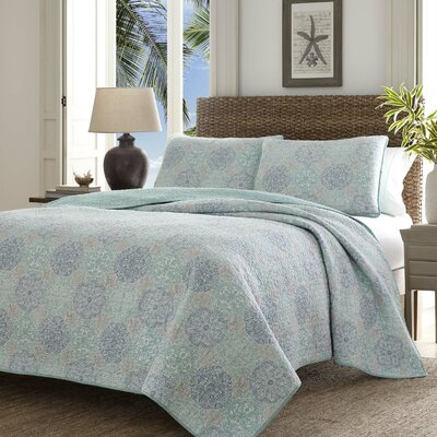 Wharton Landing Quilt Set by Tommy Bahama Bedding Size: Twin