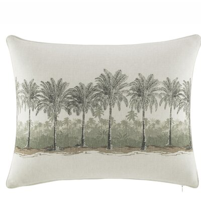 Canvas Stripe Cotton Lumbar Pillow