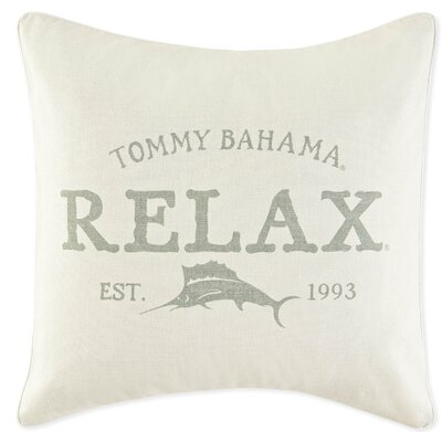 Relax Cotton Throw Pillow