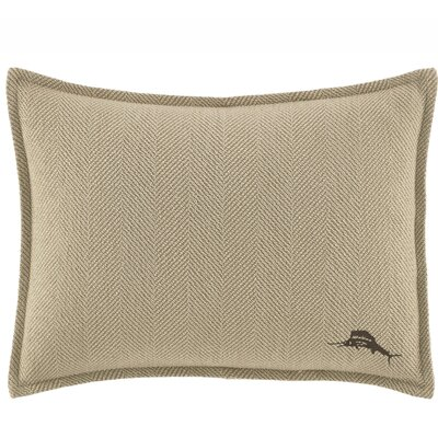 Canvas Stripe Cotton Lumbar Pillow by Tommy Bahama Bedding