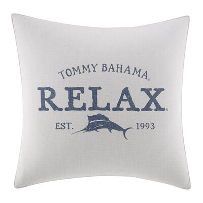 Raw Coast Relax Throw Pillow by Tommy Bahama Bedding