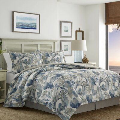 Raw Coast 4 Piece Comforter Set Size: California King