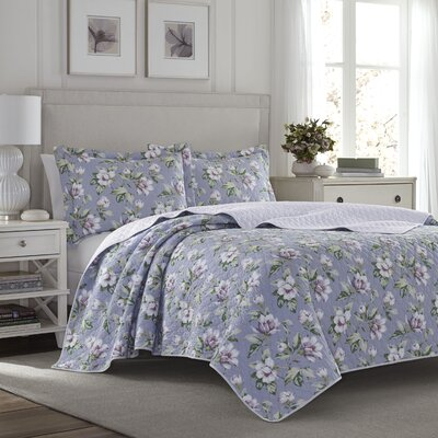 Carlisle Reversible Quilt Set by Tommy Bahama Bedding Size: Full/Queen