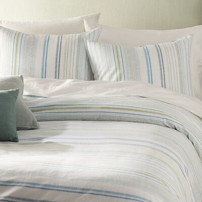 La Scala Breezer 100% Cotton 3 Piece Reversible Duvet Cover Set by Tommy Bahama Bedding Size: King