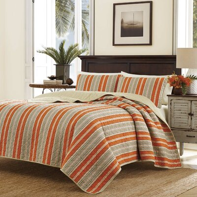 Stripe Quilt Set Size: King