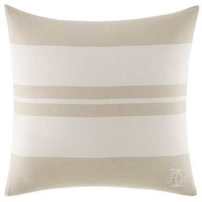 Shoreline Cotton Throw Pillow