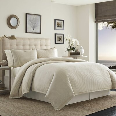 Shoreline 3 Piece Duvet Set Size: King