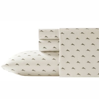 Sailfish 200 Thread Count 100% Cotton Sheet Set Size: Queen