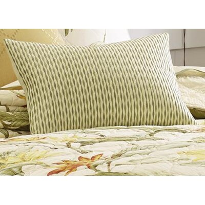 Birds of Paradise Wavy Striped Lumbar Pillow