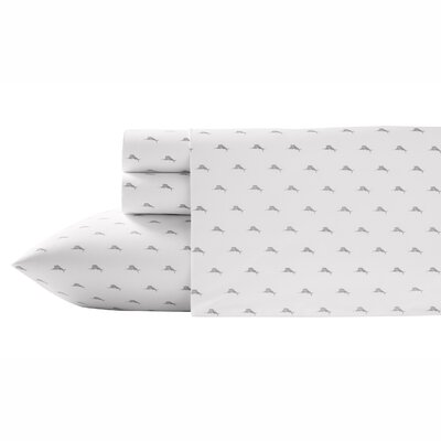 Sailfish Cotton 4 Piece Sheet Set Size: King