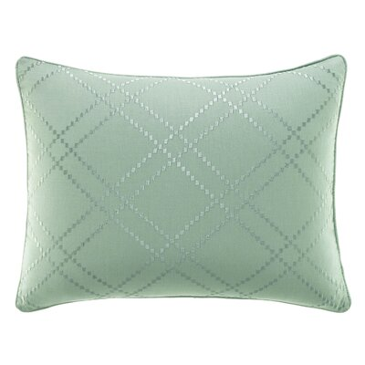 Serenity Palms Cotton Lumbar Pillow