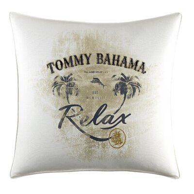 Palms Away Relax Print Throw Pillow by Tommy Bahama Bedding