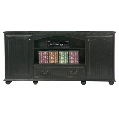"""Eagle Furniture Manufacturing American Premiere 90"""" TV Stand - Door Type: Wood, Finish: Iron Ore"""