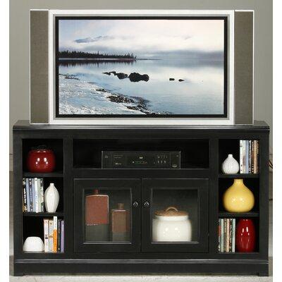 "Eagle Furniture Manufacturing Coastal 55"" TV Stand - Door Type: Plain Glass, Finish: European Gold"