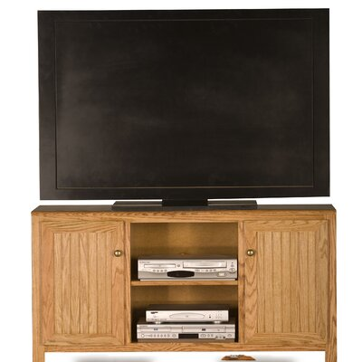 Adler 57 TV Stand Color: Light Oak, Width of TV Stand: 27 H x 57 W x 17 d