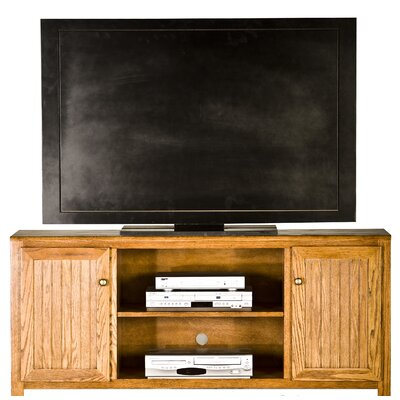 Adler 60 TV Stand Color: Medium Oak