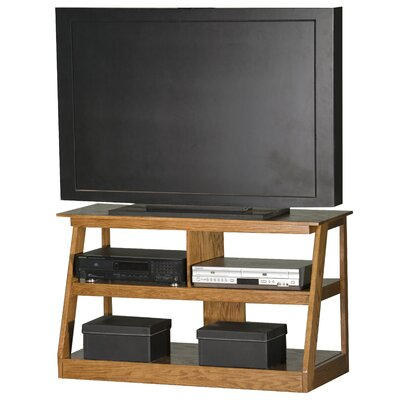 Adler 55 TV Stand Color: Medium Oak, Width of TV Stand: 24 H x 42 W x 18 D