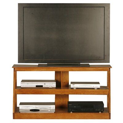 Adler 55 TV Stand Color: Light Oak, Width of TV Stand: 24 H x 55 W x 18 D