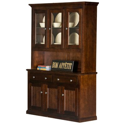Eagle Furniture Manufacturing Coastal China Cabinet - Finish: Chocolate Mousse at Sears.com