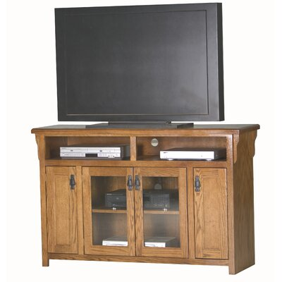 Mission 56 TV Stand Color: Light Oak