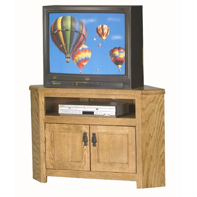 Mission 50 TV Stand Color: Dark Oak, Width of TV Stand: 27 H x 50 W x 17 D