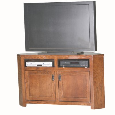 Mission 56.3 TV Stand Color: Medium Oak