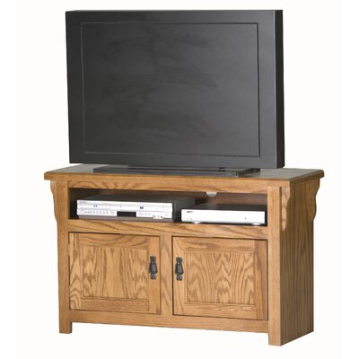 Mission TV Stand Finish: Dark Oak